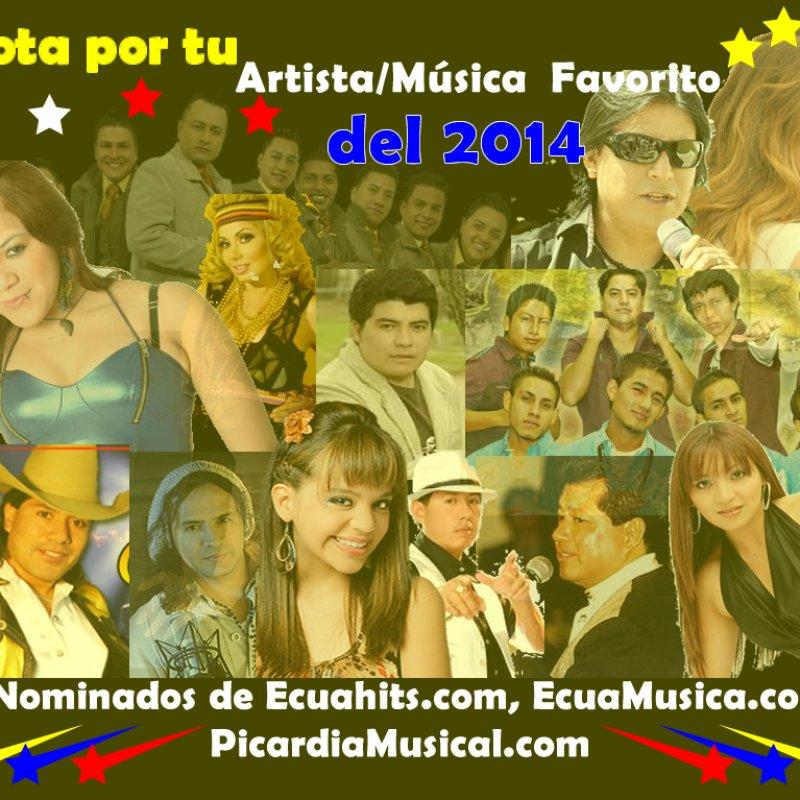 Nominaciones del Artistas del Ecuador 2014