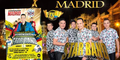 Star Band en Madrid Espana
